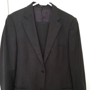 Zara Men's Jacket and Pants Suit Brown